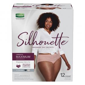 Depend Silhouette for Women Large/Extra Large