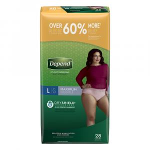 Depend for Women Large Underwear
