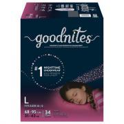 Huggies GoodNites Briefs Large Girls Giga Pack