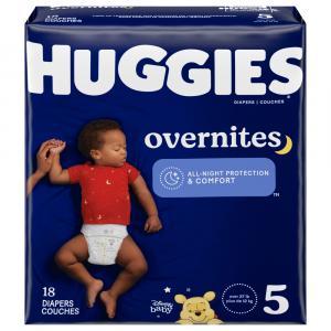Huggies Overnites Step 5 Jumbo Diapers