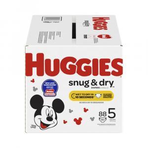 Huggies Snug & Dry Step 5 Giga Pack
