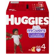 Huggies Little Movers Step 4 Giga Diapers
