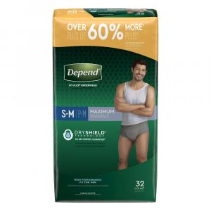 Depend For Men Small/medium Underwear
