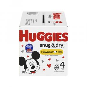 Huggies Snug & Dry Step 4 Giga Pack