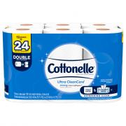 Cottonelle Clean Care Double Roll Bath Tissue