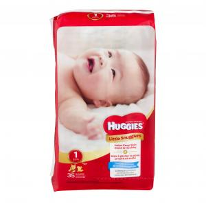 Huggies Little Snugglers Step 1 Jumbo Diapers