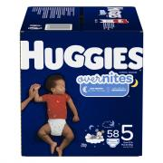 Huggies Overnites Step 5 Giga Pack Diapers