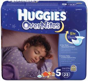 Huggies Overnites Step 5 Diapers