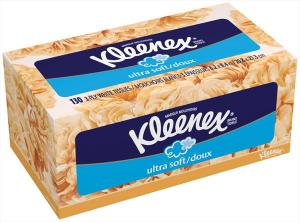 Kleenex Ultra Soft Family Size Facial Tissues