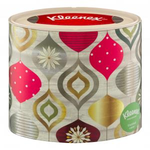 Kleenex Oval Holiday Facial Tissues