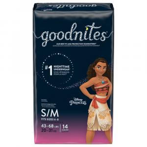 Huggies GoodNites Briefs Small/Medium Girl Jumbo