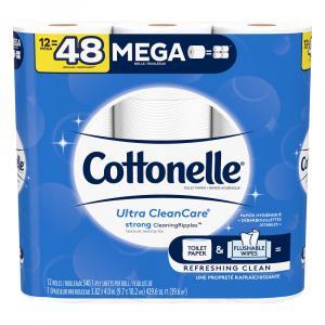 Cottonelle Clean Care Mega Roll Bath Tissue