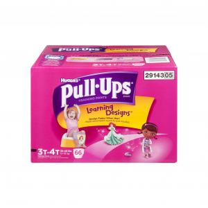 Huggies Pull-ups Learning Design Girls Size 3t - 4t