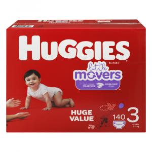 Huggies Little Movers Step 3 Huge Value Diapers