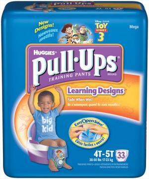 Huggies Pull-ups Boy's Training Pants 4t-5t