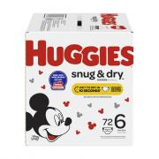 Huggies Snug & Dry Step 6 Giga Pack