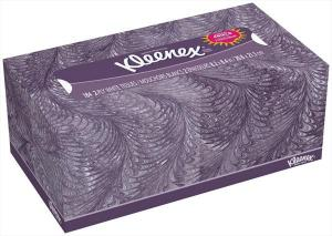 Kleenex White Facial Tissues