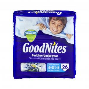Huggies Goodnites Underpants For Boys Small/medium