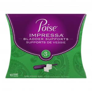 Poise Impressa Bladder Supports Size 3