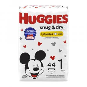 Huggies Snug & Dry Step 1 Jumbo Diapers