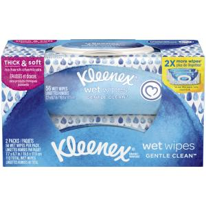Kleenex Wet Wipes Gentle Clean