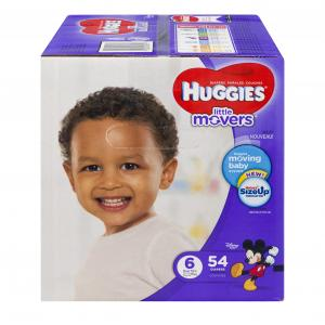 Huggies Little Movers Step 6 Giga Jr