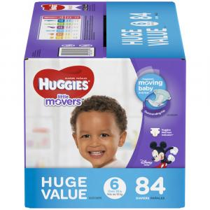 Huggies Little Movers Step 6 Huge Pack