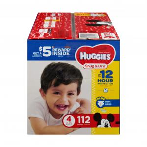 Huggies Snug & Dry Step 4 Giga Pack