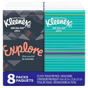 Kleenex Pocketpack Facial Tissues