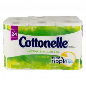 Cottonelle Gentle Care Double Roll Bath Tissue