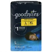 Huggies GoodNites Briefs Large Boys Jumbo