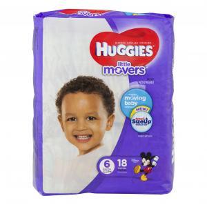 Huggies Little Movers Step 6 Jumbo Diapers