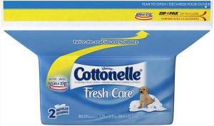 Cottonelle Fresh Folded Moist Wipes Pop-up Refill