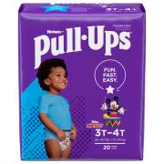 Pull-Ups Training Pants 3T-4T Boy