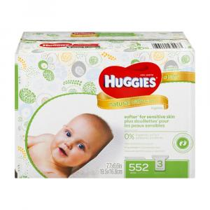 Huggies Natural Care Fragrance Free Wipes