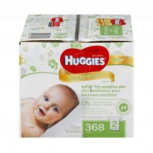 Huggies Natural Care Wipes Refill