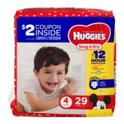 Huggies Snug & Dry Step 4 Jumbo Pack