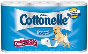 Kleenex Cottonelle Double Roll Bath Tissue