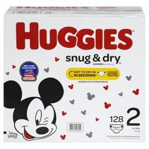 Huggies Snug and Dry Step 2 Giga Pack