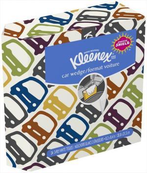Kleenex Auto Pack Tissues