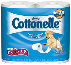 Kleenex Cottonelle Double Roll Bath Tissue