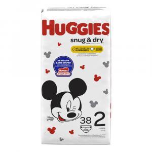 Huggies Snug & Dry Step 2 Jumbo Diapers