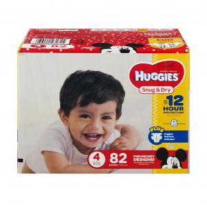 Huggies Snug & Dry Step 4 Big Pack
