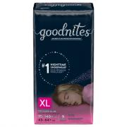 Huggies GoodNites Briefs XL Girls Jumbo