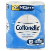 Cottonelle Clean Care Mega Roll Tower Bath Tissue