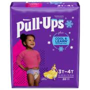 Pull-Ups Cool & Learn 3T-4T Girl Jumbo