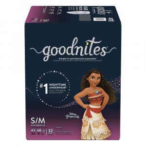 GoodNites Briefs Small/Medium Girl