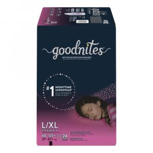 GoodNites Briefs Large/Extra Large Girls