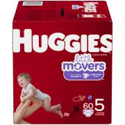 Huggies Little Movers Step 5 Diapers