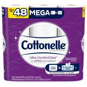 Cottonelle Ultra Comfort Care Mega Roll Bath Tissue